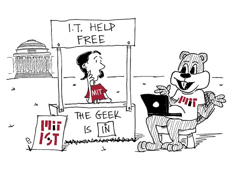 IT help cartoon