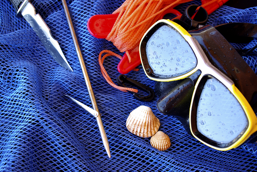 spear fishing scuba gear