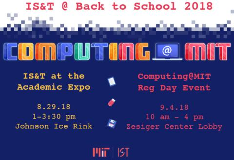 Computing @ MIT event sign