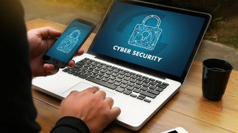 secure laptop and phone
