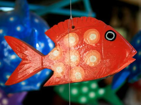 Red Fish Toy