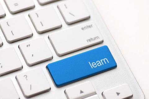 """""""learn"""" key on keyboard"""