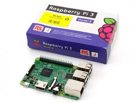 Raspberry Pi 3 and box