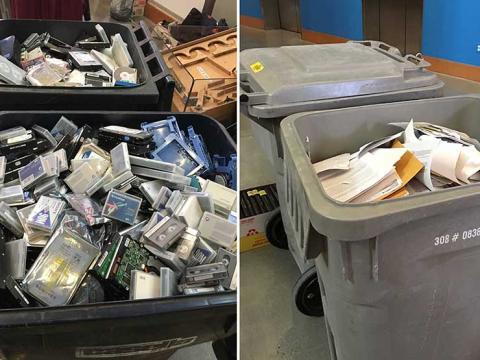 shred it bins
