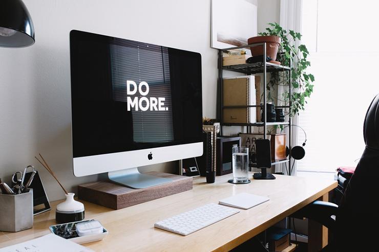 """do more"" computer screen image"