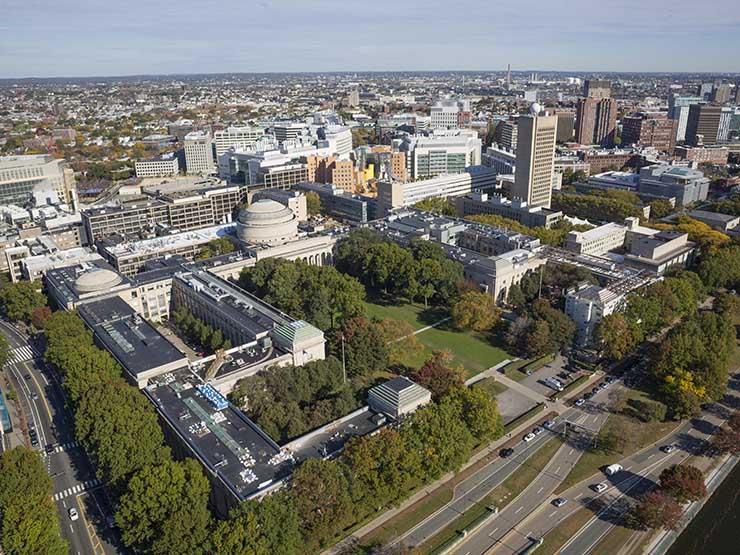 photograph of mit campus