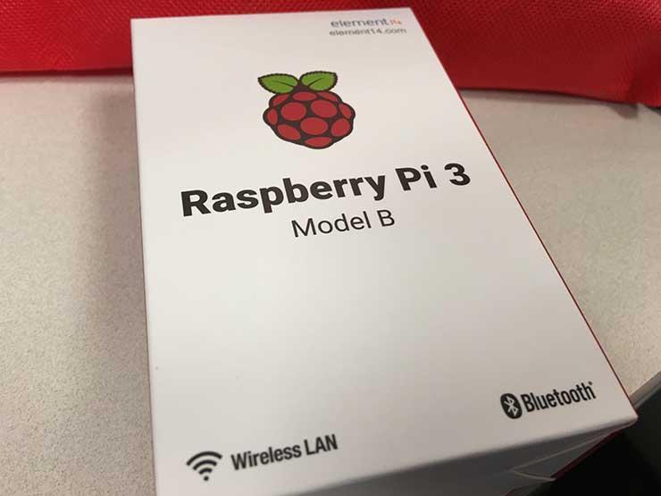 Rspberry Pi 3 box