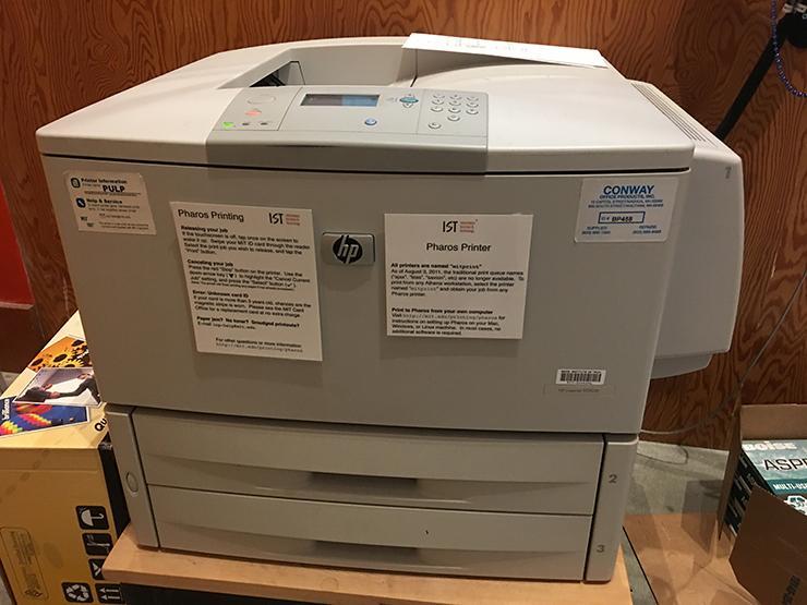 Pharos printer