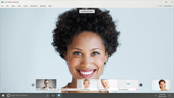 The new Webex Modern View