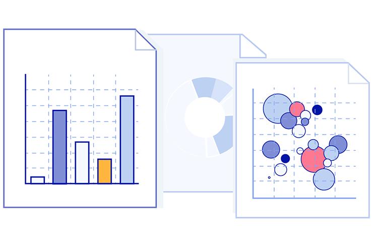Data visualization graphic