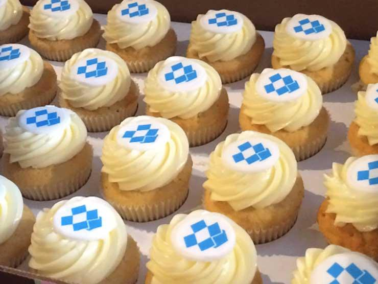 Dropbox Cupcakes
